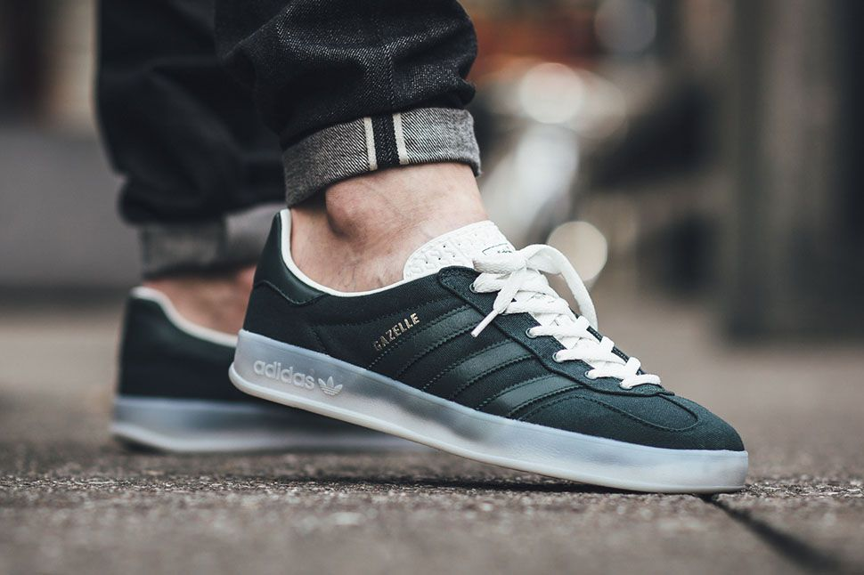 adidas gazelle grise foot locker