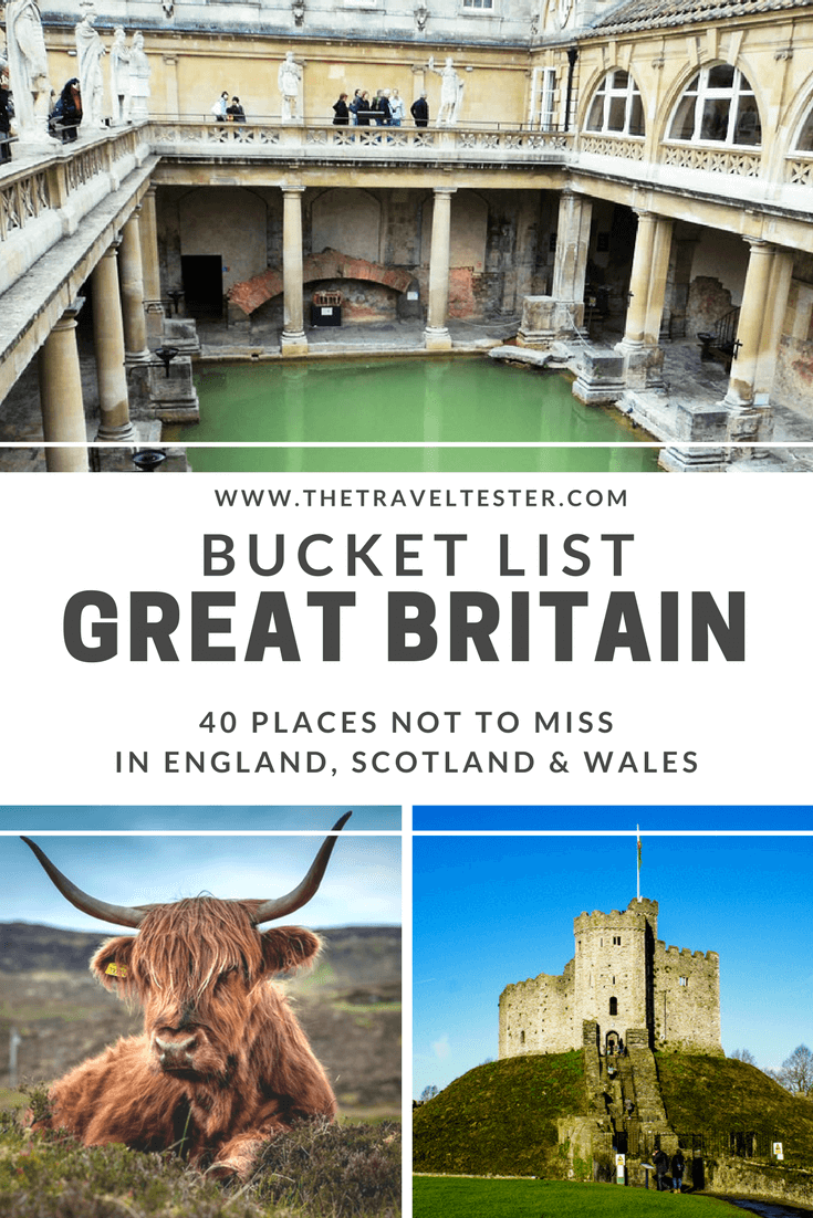 Great Britain Bucket List: England, Scotland and Wales || The Travel Tester