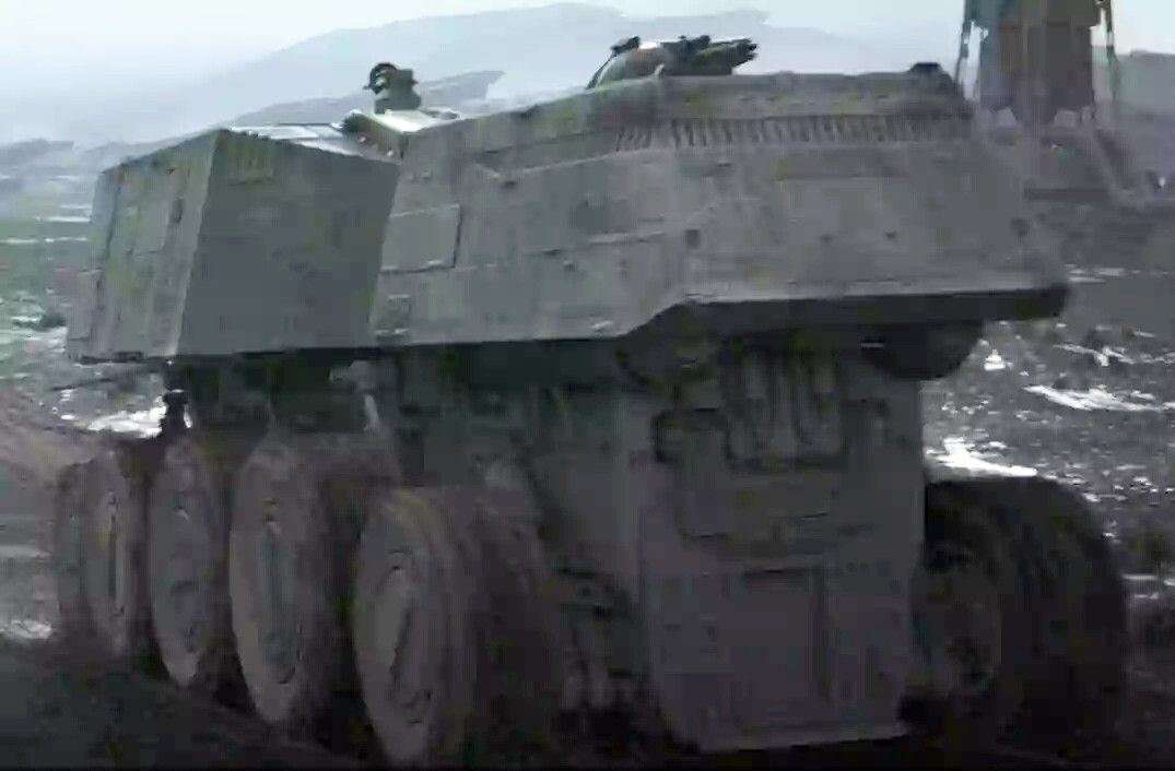 Imperial A9 Turbo Tank: Brightened Screen Shot from [Rogue