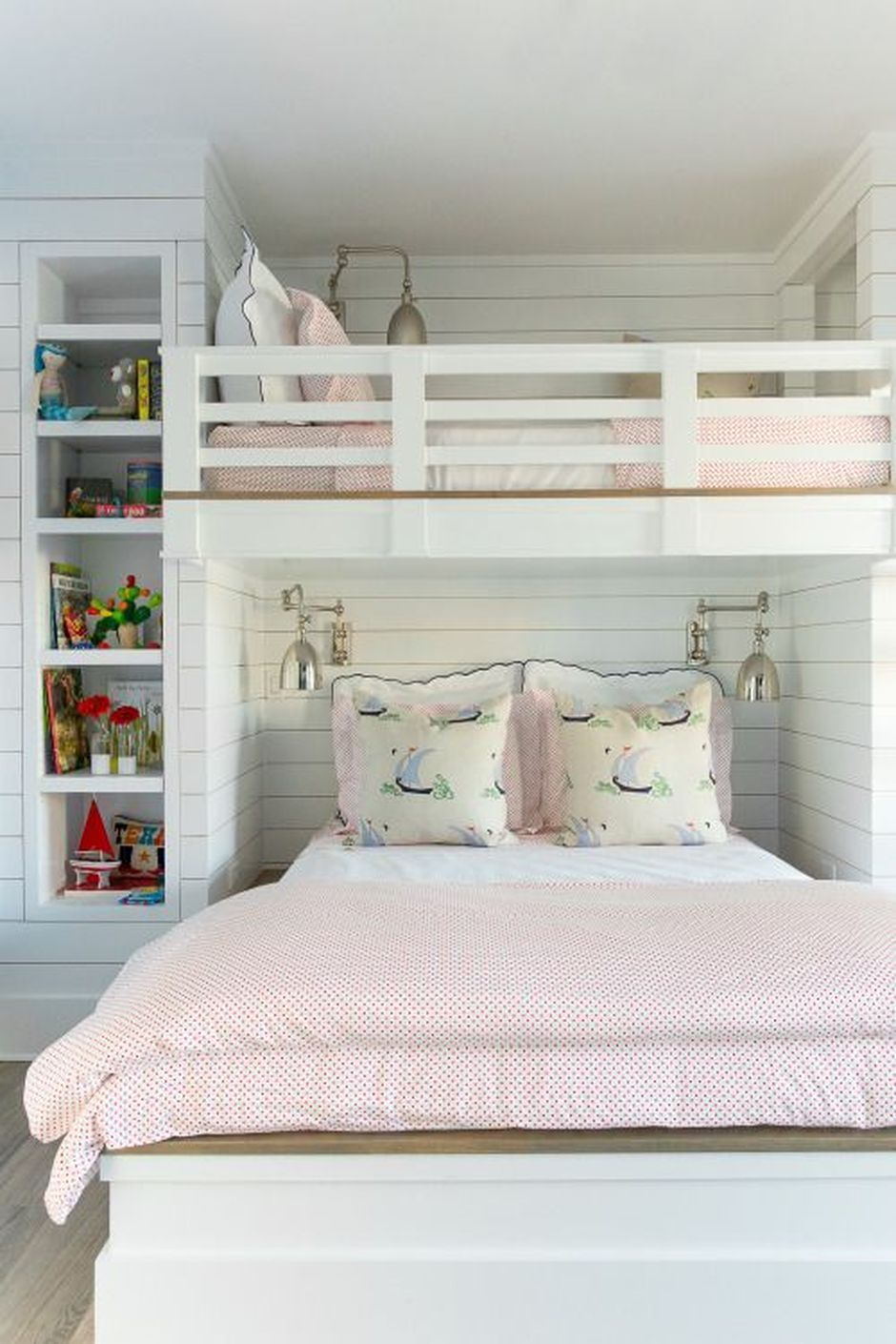 Cool Loft Bed Design Ideas for Small Room 65   Shared ...