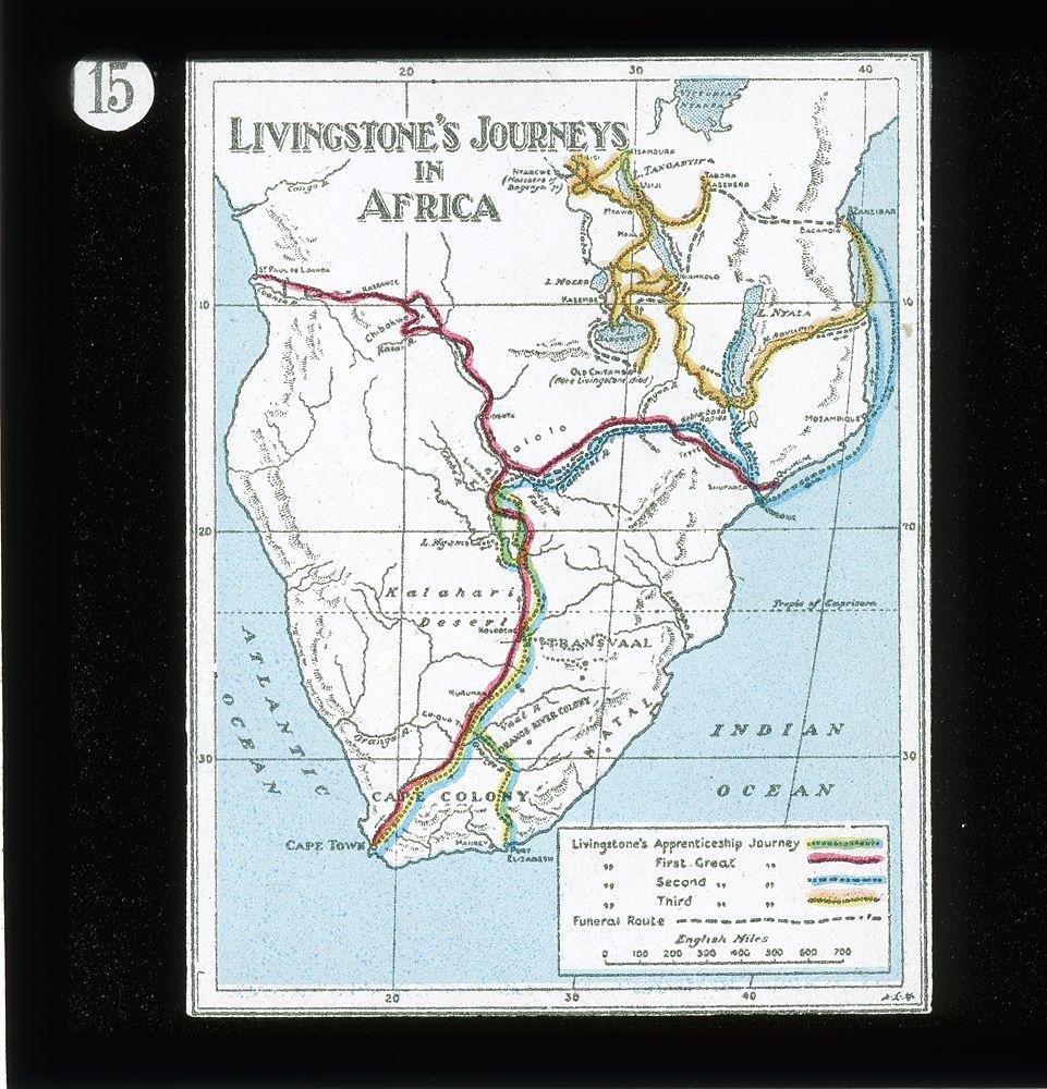 Livingstone Africa Map atlasobscura | David livingstone, Africa map, Africa