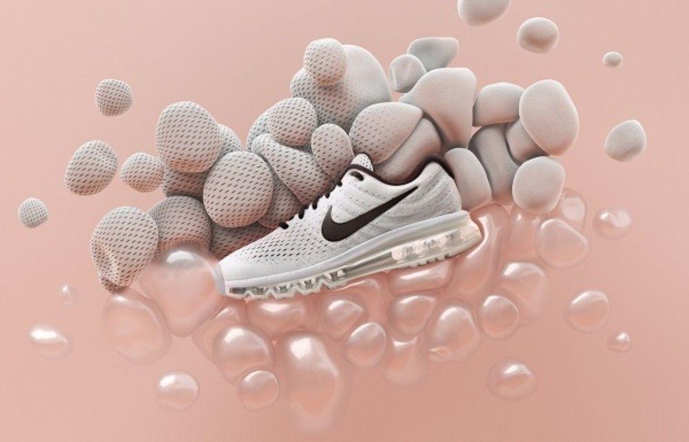 6bda121f28c62b Sneakers artwork - Nike Air Max 2017 (©ManvsMachine)