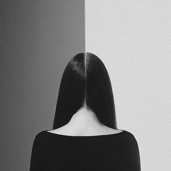 #noellosvald #hair #abstract #portrait #art #blackandwhite #hide #design
