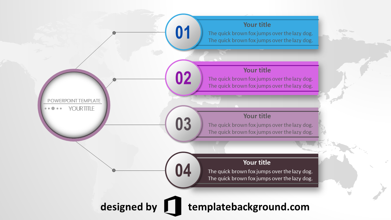 template presentation powerpoint free download nice template