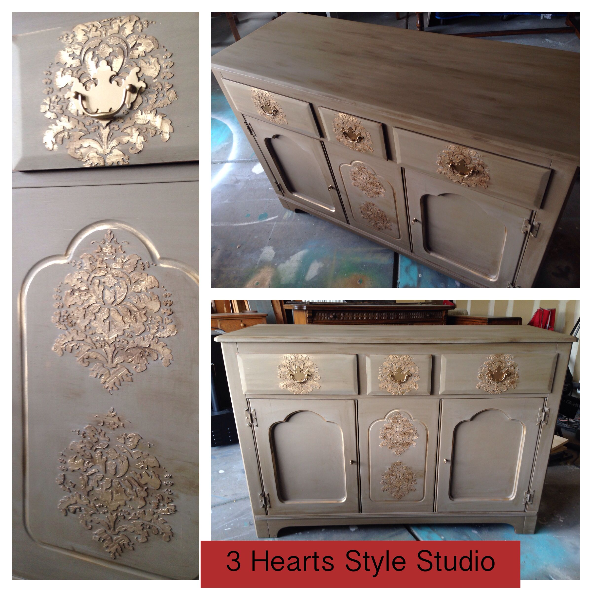 Bon Rustic Furniture · All That Glitters Is Gold! Media Console Custom  Refinished In Denver, CO. Find