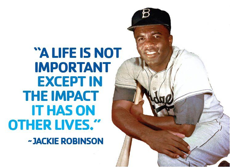 a biography of the life and sports career of jackie robinson Jackie robinson and the american dilemma wilson examines robinson's life and career jackie robinson and the american dilemma (library of american biography.