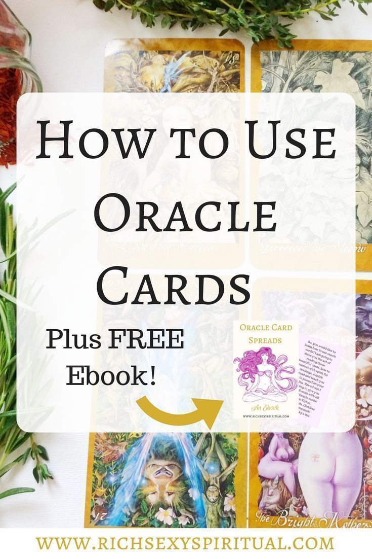 So, you would like to learn how to use oracle cards? I am