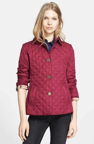 Burberry Brit Copford Quilted Jacket Quilted Jacket Women S Coats Jackets Jackets