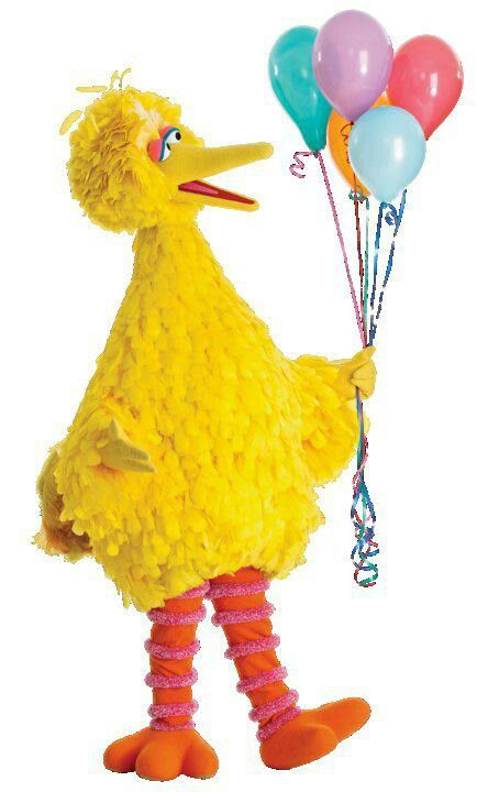 Happy Birthday Big Bird Sesame Street Muppets The Muppet