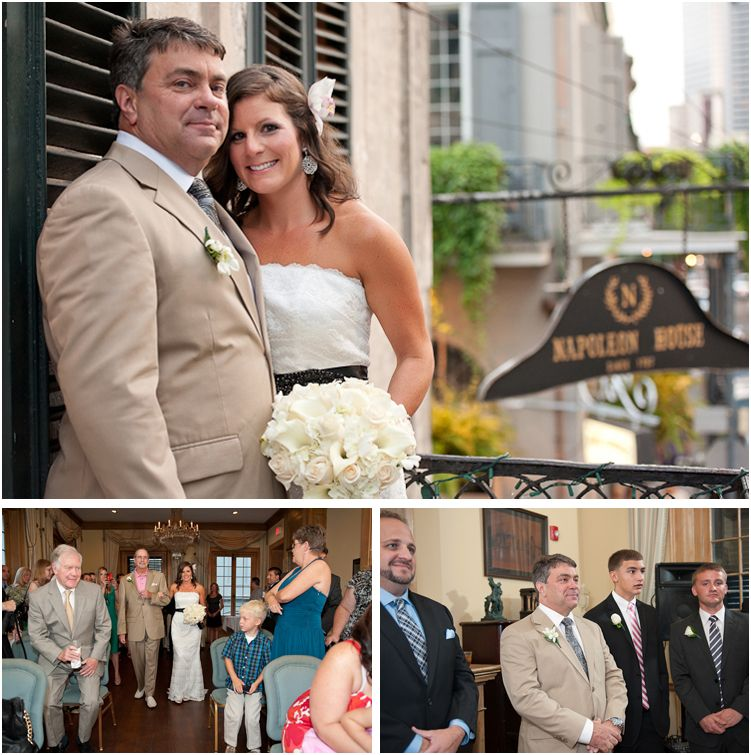 Angella Jay S Casual Yet Elegant Wedding At The Historic Napoleon House In New Orleans