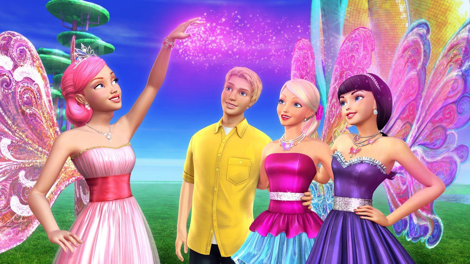 Barbie Cartoon Barbie A Fairy Secret Cartoon Barbie Pesquisa