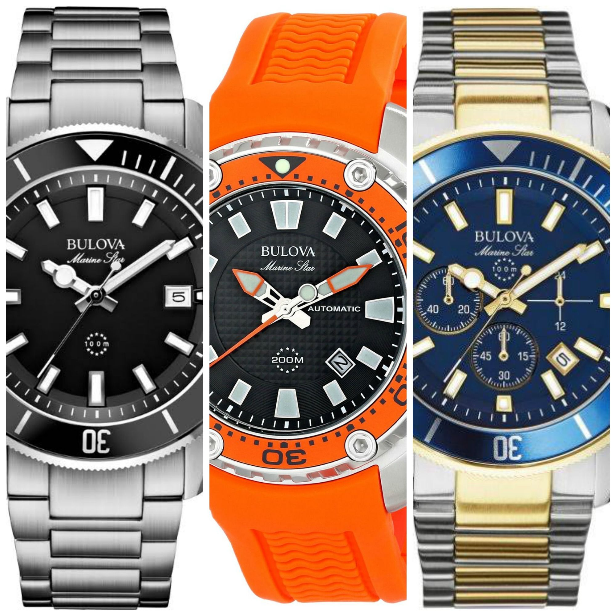6 Best Selling Bulova Marine Star Watches For Men. http