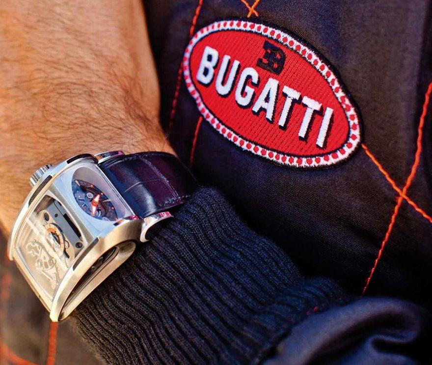Parmigiani Fleurier Bugatti Super Sport timepiece inspired