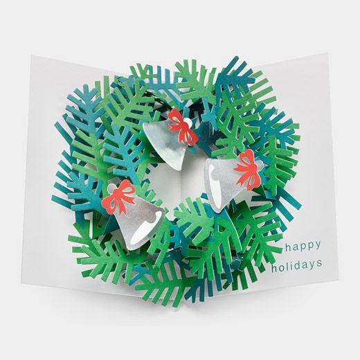 NEW Robert Sabuda Christmas Cards Wreath