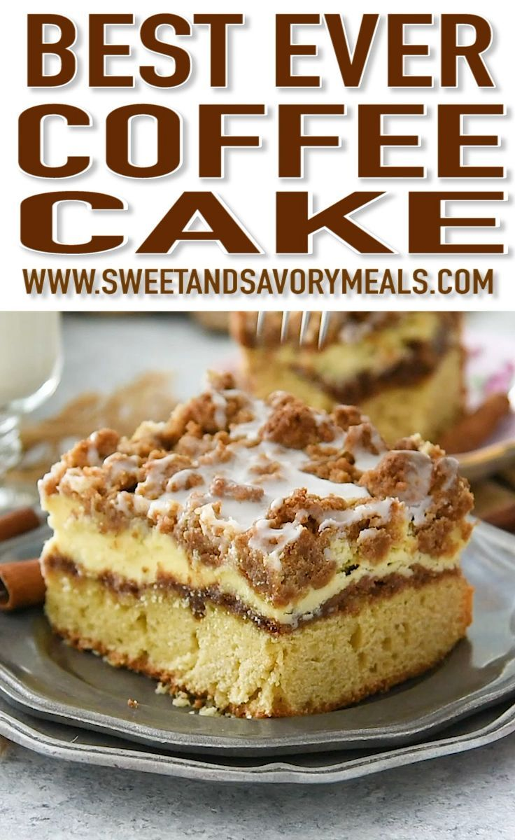Photo of Best Ever Coffee Cake Recipe [VIDEO] – Sweet and Savory Meals