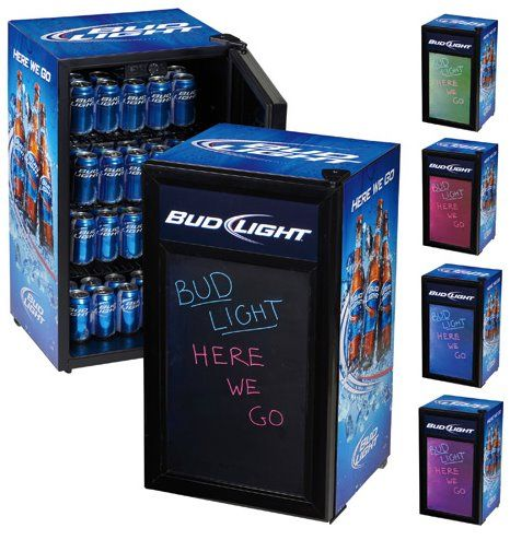 Register Here For A Sweet Budlight Mini Fridge This