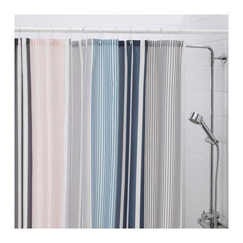 BOLMÅN Shower curtain, multicolor | Master bathrooms and Condos