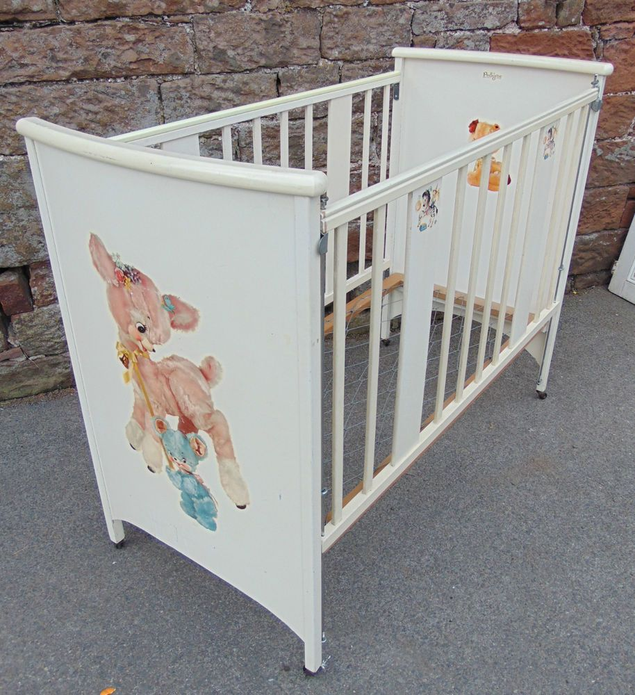 Antique Baby Cribs 1950s Baby Cribs Baby Nursery Furniture Antique Baby Crib