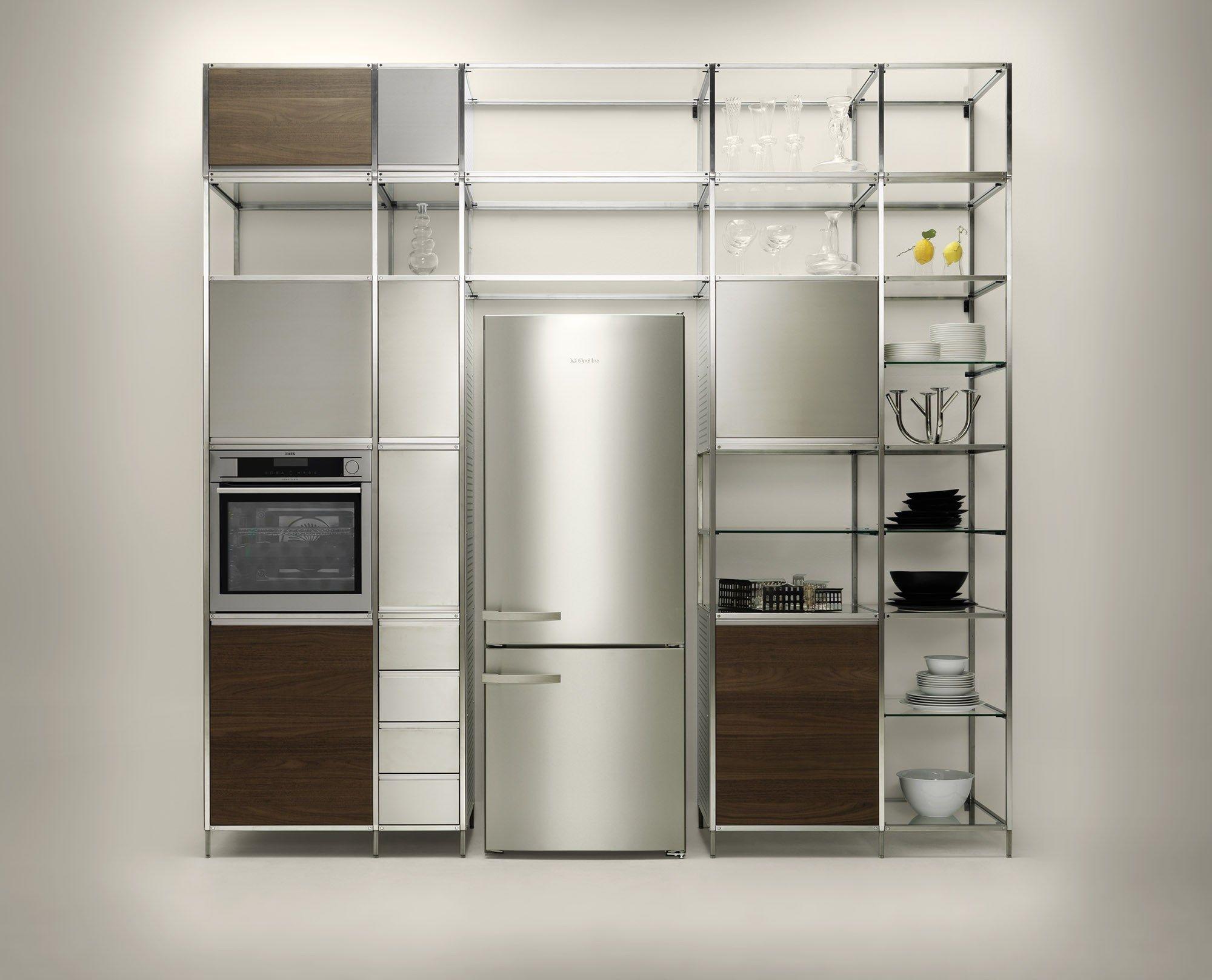 Cucina componibile in multistrato meccanica by valcucine design