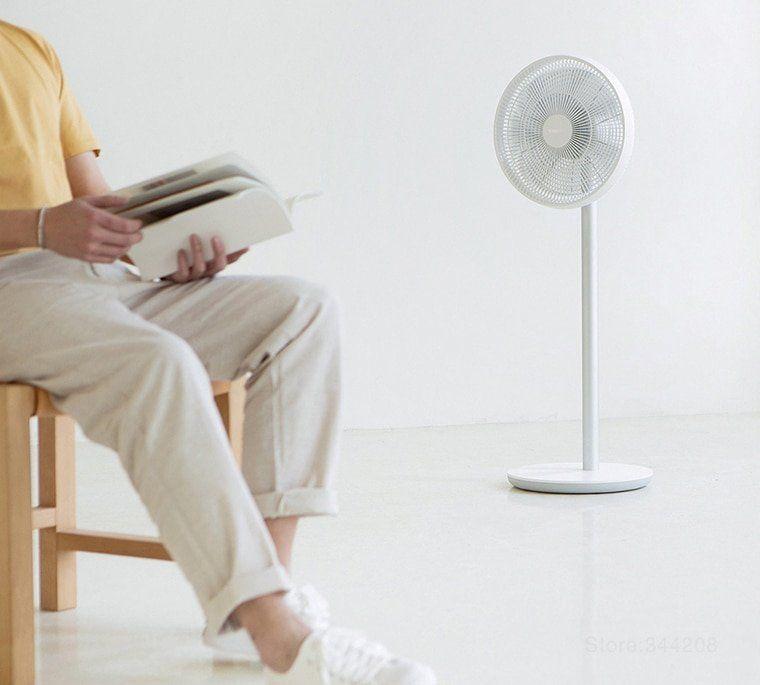 Portable Standing Pedestal Cooling Fan Smart Quiet Electric Fan Electric Fan Pedestal Fan