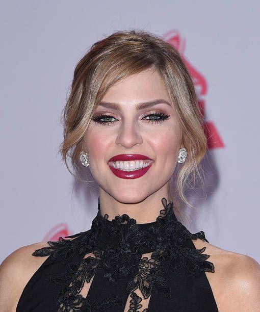 TV host/model Daniela di Giacomo attends the 16th Annual Latin GRAMMY Awards at the MGM Grand Garden Arena on November 19 2015 in Las Vegas Nevada