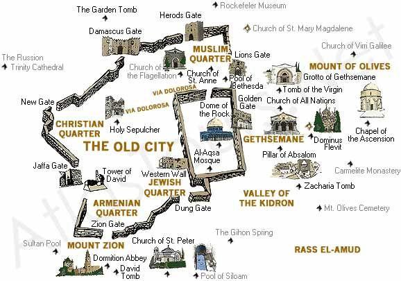 Jerusalem, Temple Mount - Crystalinks | Beloved Jerusalem ...