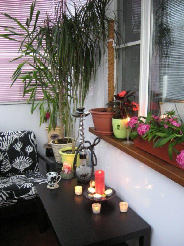 30 Coole Ideen einen kleinen Balkon gemütlich zu machen | Balkon ...