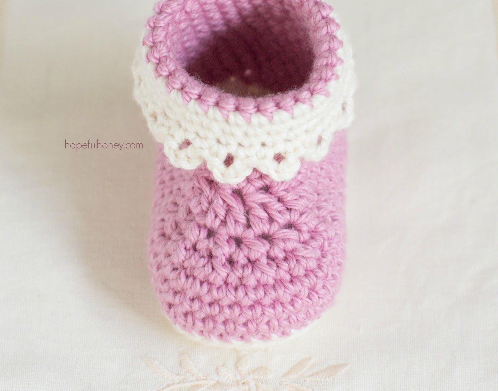 Pink lady baby booties free crochet pattern free crochet lady pink lady baby booties free crochet pattern bankloansurffo Gallery