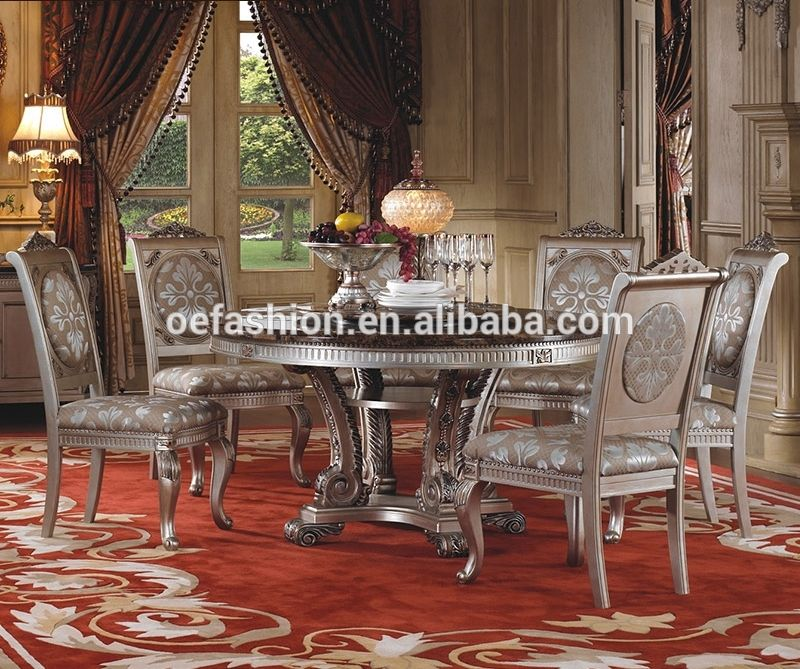 Oe Fashion Dining Room Furniture Marble Tops Round Dining Table