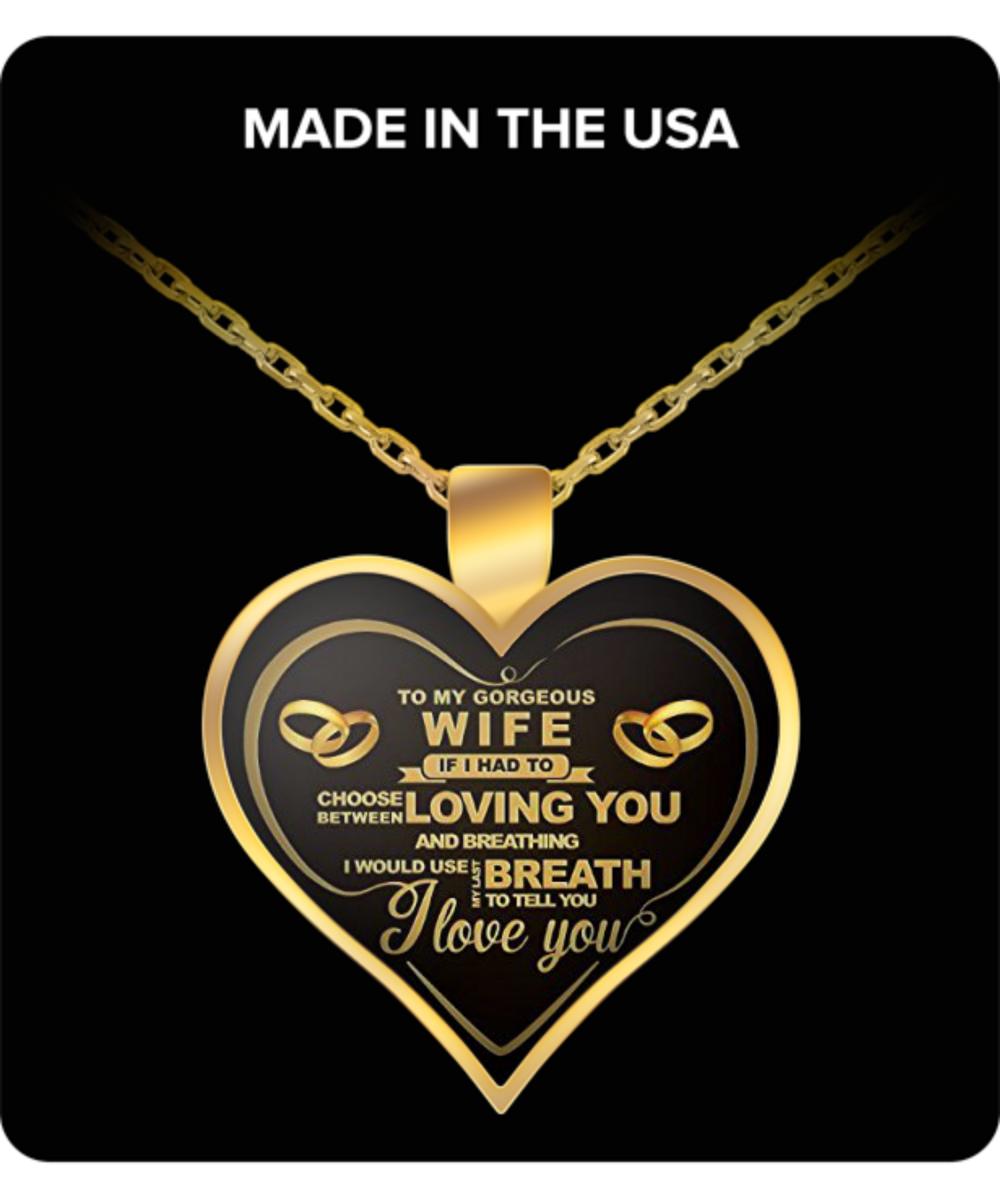 Perfect Gift For Valentines Day Your Love Wife Wifey Girlfriend Friend 22 Inch Necklace Chain That Fits Great On Anyone