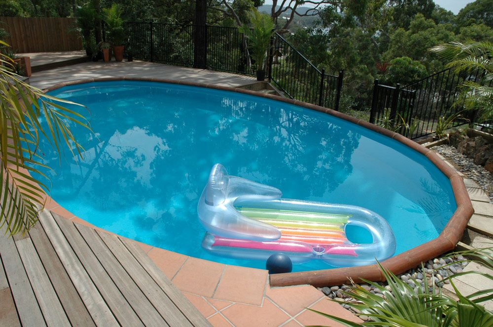 My Pool on Pinterest | Above Ground Pool, Decks and Pool Decks