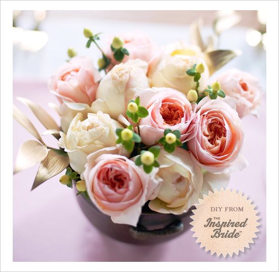 Garden rose do it yourself centerpiece diy centerpieces garden rose do it yourself centerpiece solutioingenieria Image collections