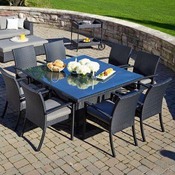 Costco Carmel 9 Piece Dining Set Outdoor Decor Patio Furniture Dining Set Patio Dining Set
