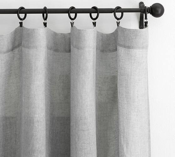 Belgian Flax Linen Sheer Curtain Flax Sheer Linen