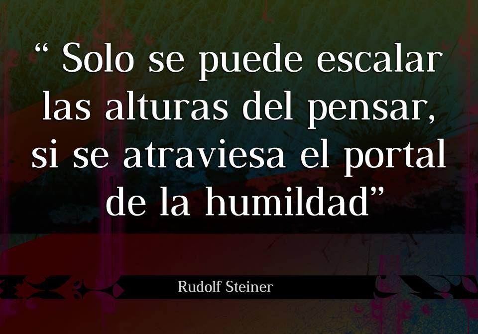 Frase Rudolf Steiner Rudolf Steiner Frases Pensamientos Y