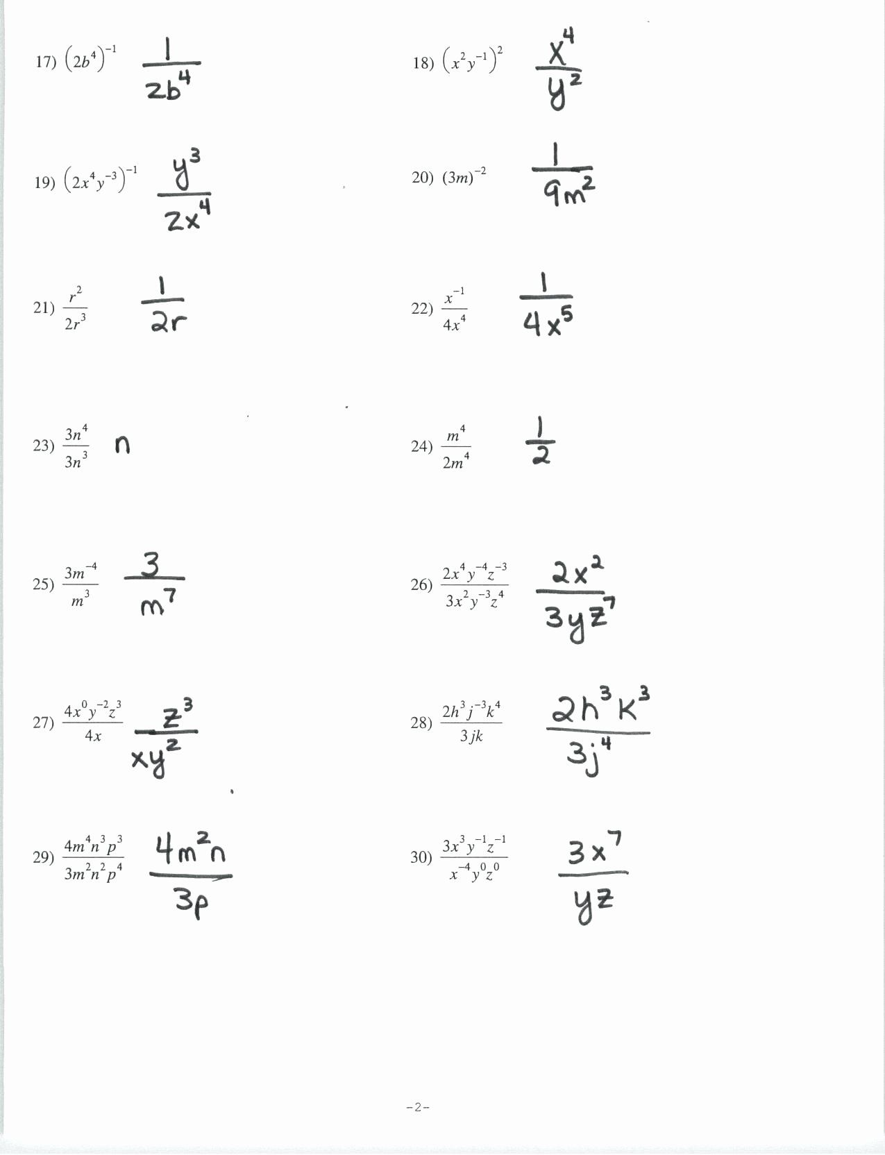 Radicals And Rational Exponents Worksheet Beautiful
