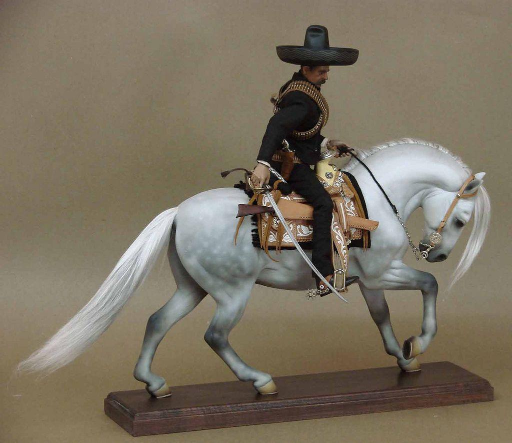 Emiliano Zapata Y Caballo Tordillo Horse Inspiration Custom Horse Horse Breeds