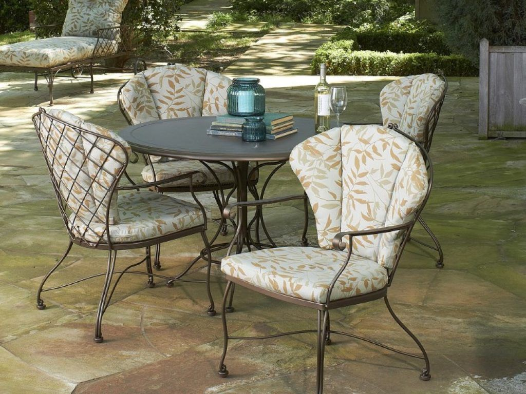 Wrought Iron Patio Furniture Replacement Cushions Easy