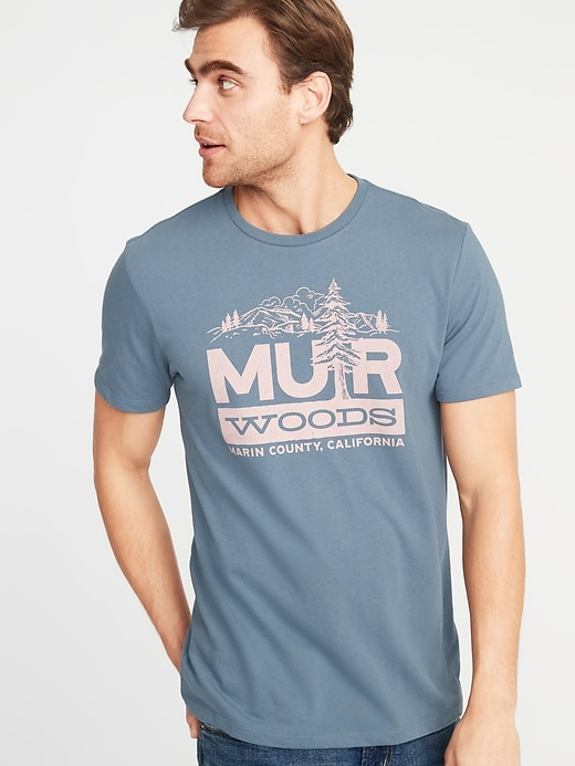 9b62b92ea62a5 Old Navy Men s Graphic Soft-Washed Tee Muir Woods Big And Tall Size XXXL