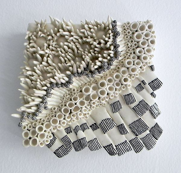 Dots And Dashes By Regina Farrell: Ceramic Wall Art Available At  Www.artfulhome.com