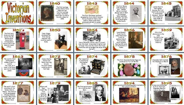 Victorian Inventions Google Search Victorian Timeline History Teaching Resources Teaching History