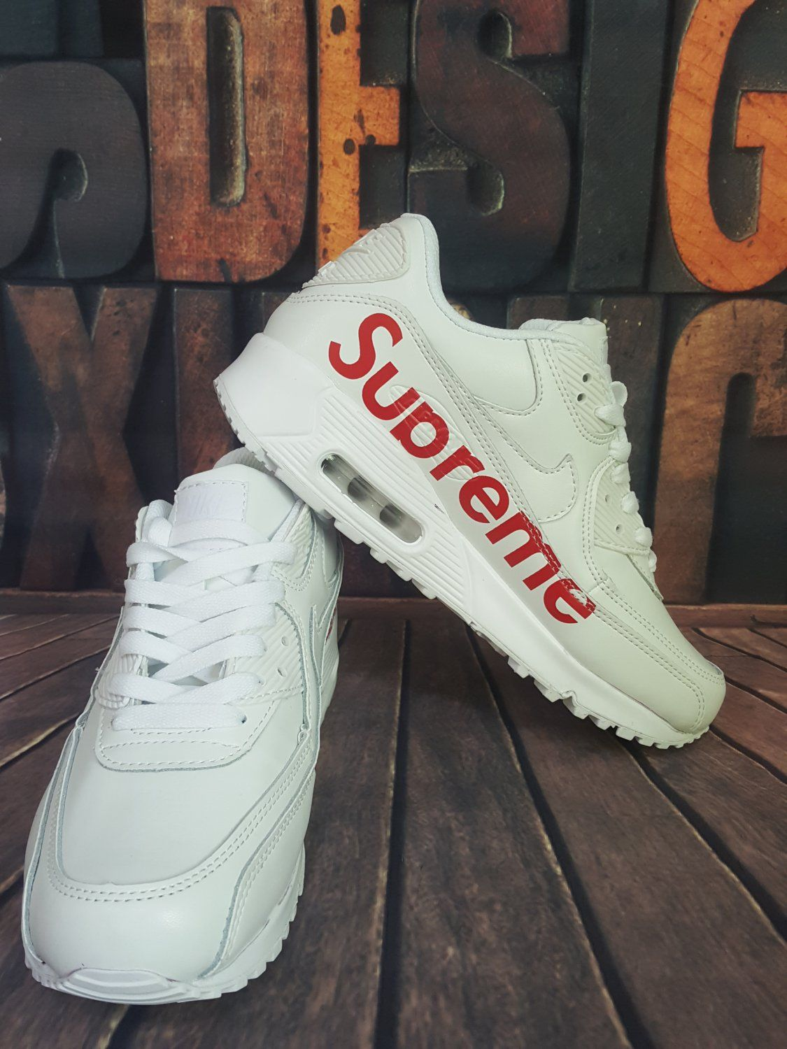 new product 2fe9e 557df Nike Air Max 90 X Supreme. Only $139.99 with free shipping ...