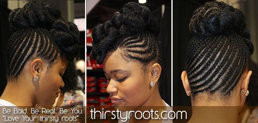 Updo Via Thirsty Roots Hair Styles Natural Hair Styles Black Girl Long Hair
