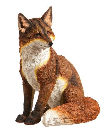 Handsome Fox Statue Fox Fox Silhouette Fox Art