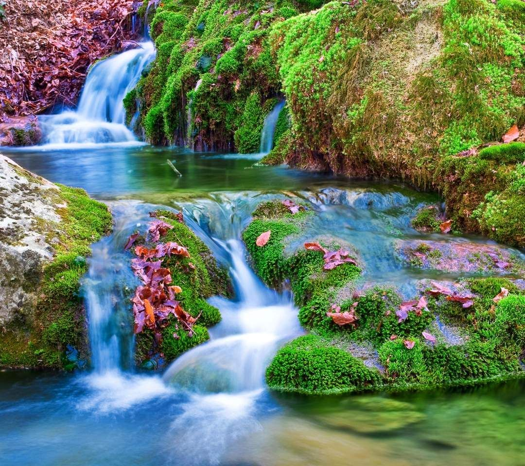 Spring Waterfall Beautiful Nature Wallpaper Beautiful Nature Waterfall Wallpaper