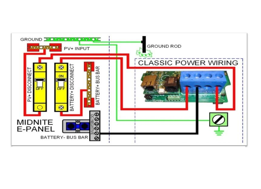Midnite Classic Mppt Solar Charge Controller Wiring Diagram Off Rhpinterest: Charge Controller Wiring Diagram At Gmaili.net