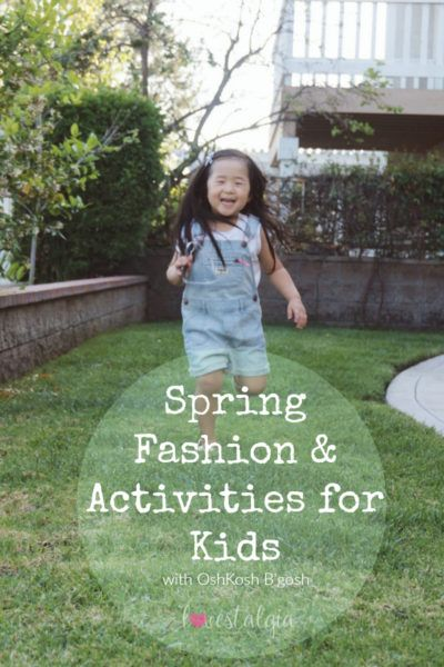 Spring Fashion and Activities for Kids « lovestalgia