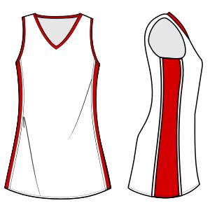d4af9663c Modelos de ropa patrones para todas las edades Vestido deportivo 6708 DAMA  Vestidos
