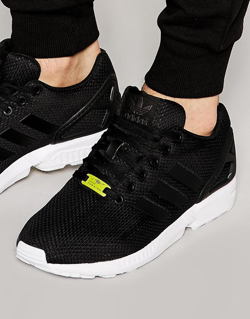 Image 1 of adidas Originals ZX Flux Trainers M19840 | My