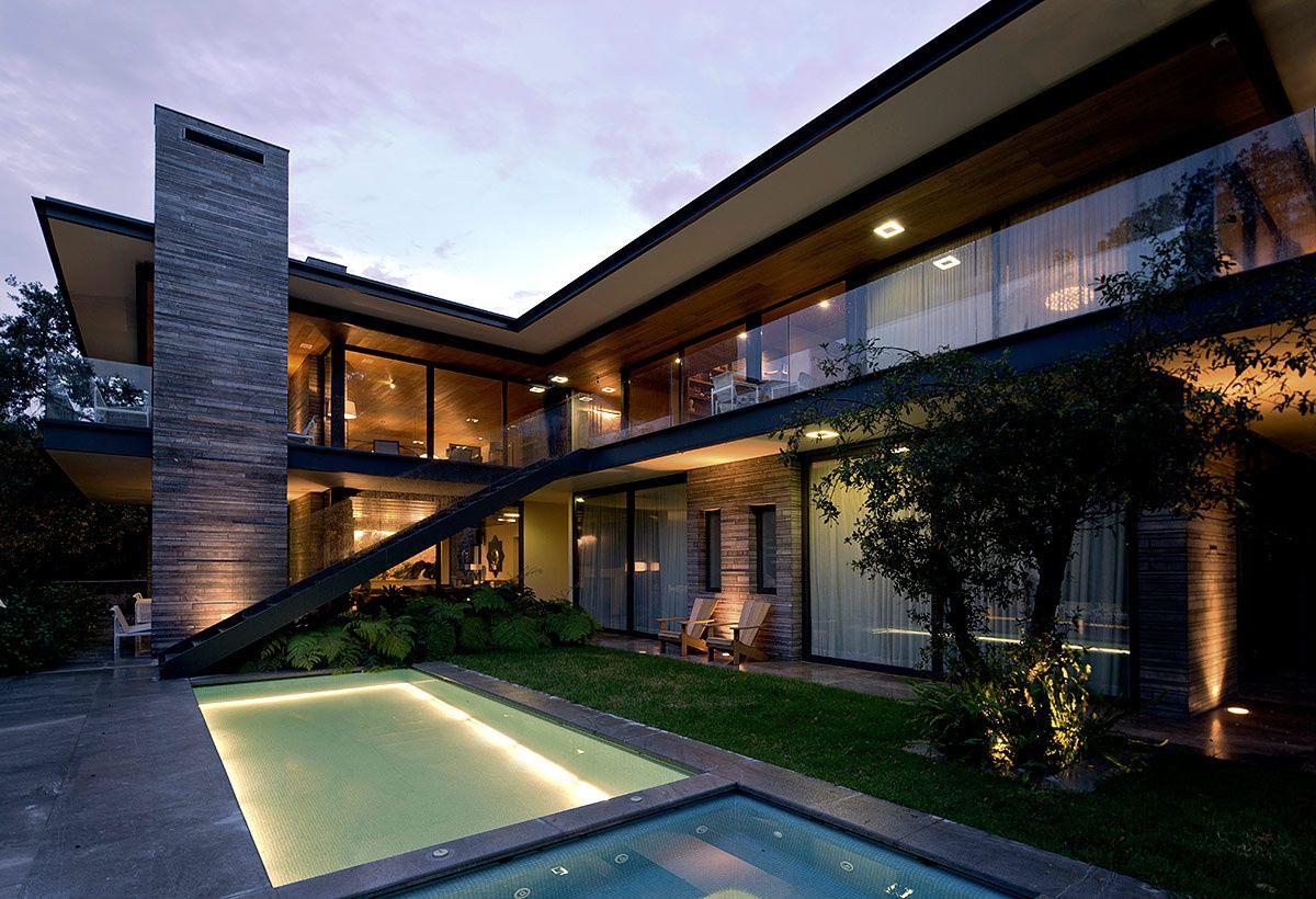 residencia por pascal arquitectos architectural exteriors